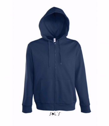 47800 SOL'S Seven Zip Hooded Sweatshirt